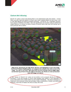 Directx10.1-Enabling breakthrough graphics on the ATI Radeon HD3800 series pg.9