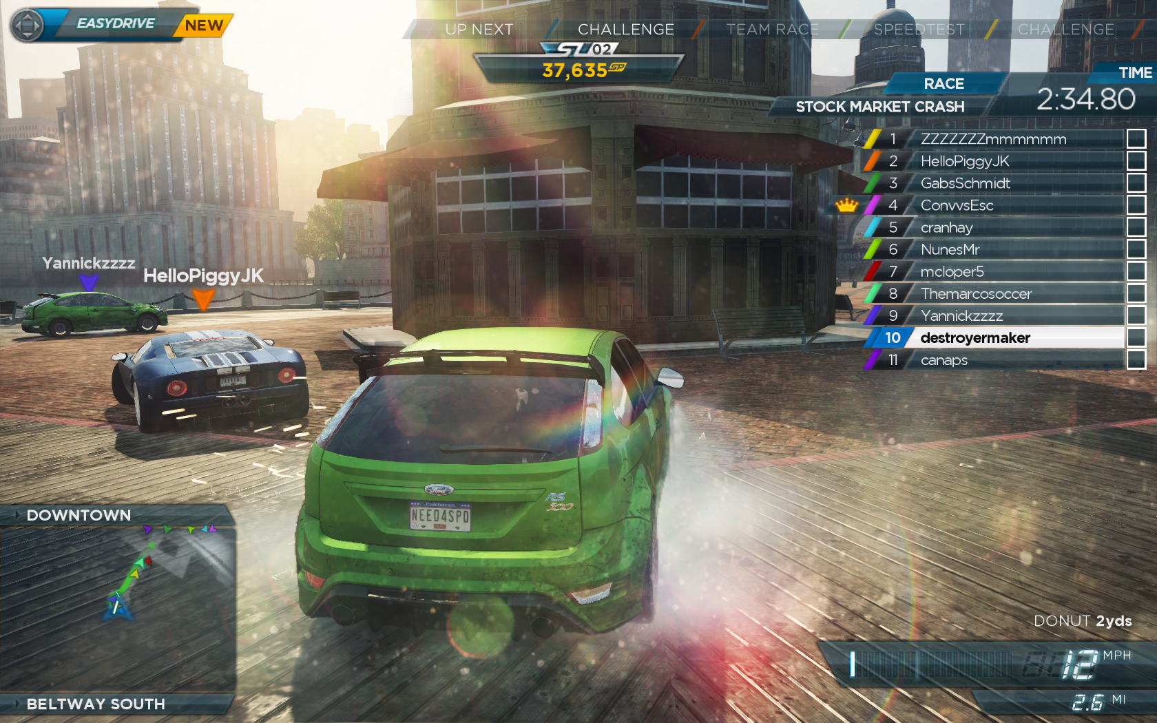 Nfs most wanted zero gravity (release candidate) (pc/2010/ru)