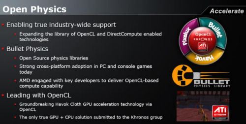 AMD Open Physics Announcement, 2009