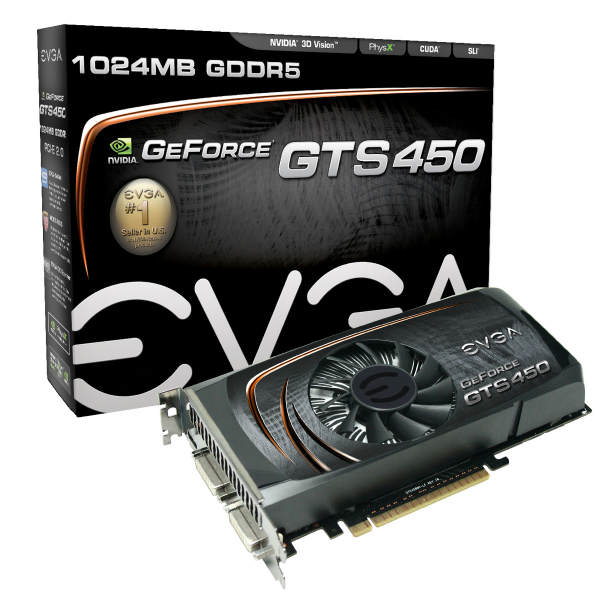 EVGA GeForce GTS 450