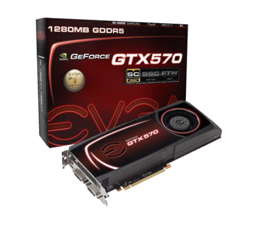 EVGA GeForce GTX 570 SuperClock