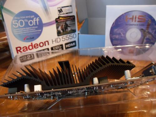 HIS ATI Radeon HD 5550 GDDR5 Silence
